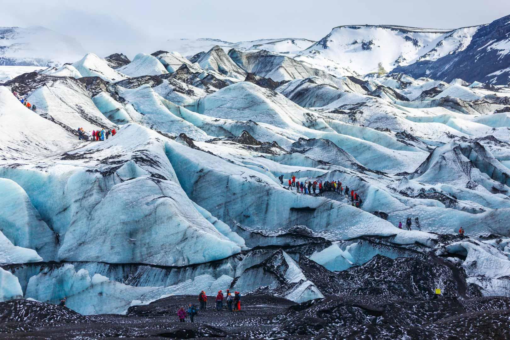 Solheimajokull - South Coast Tour