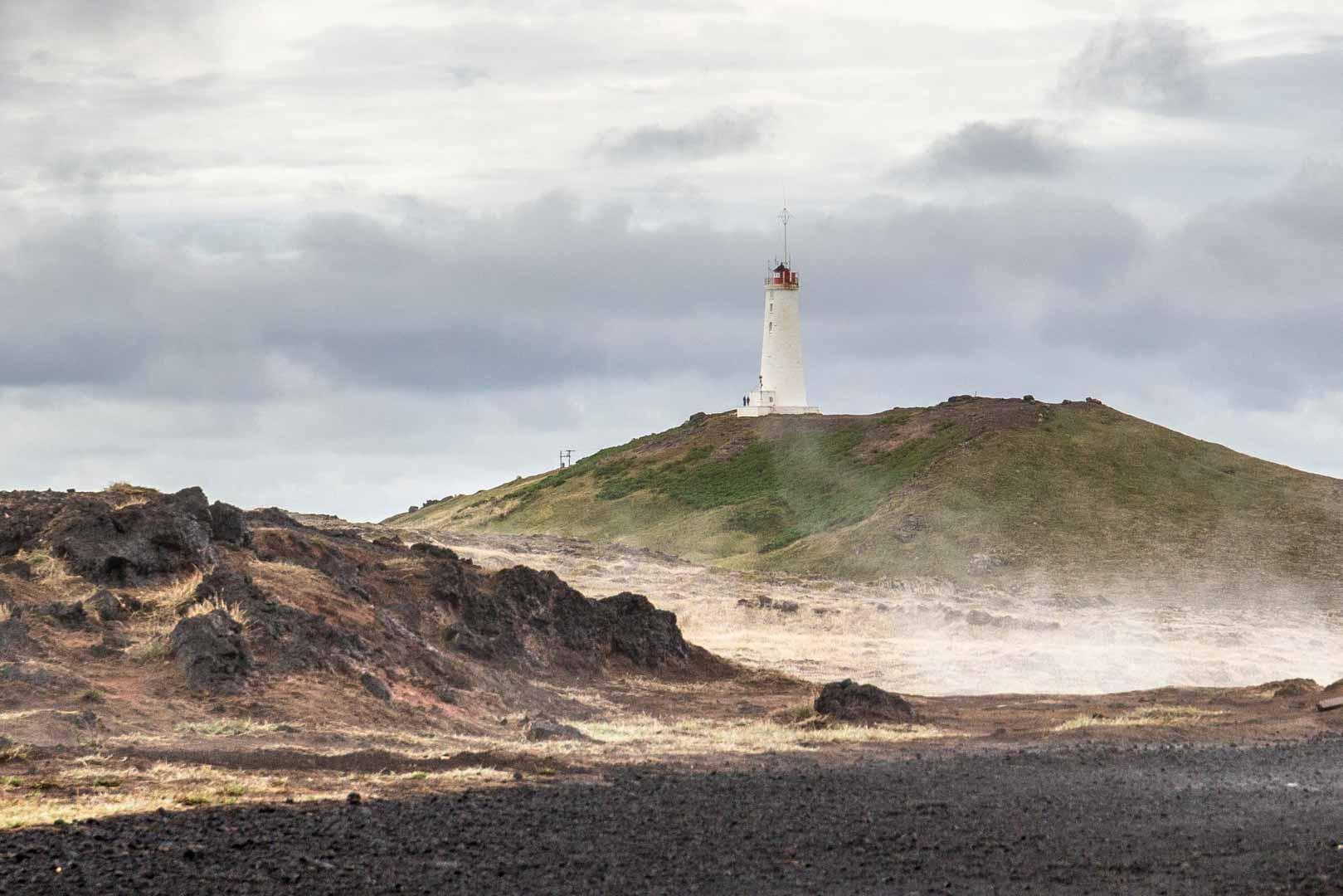 Reyjanesviti Reykjanes Peninsula