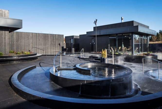 Spyral Pool Krauma Geothermal Spa West Iceland