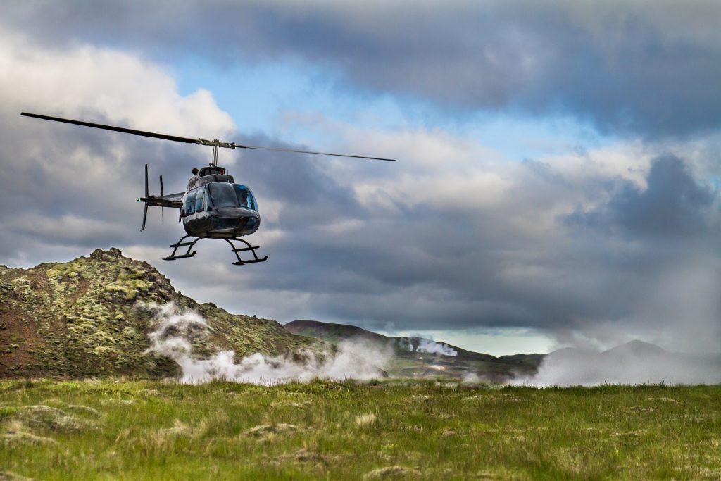 Hengillinn. Geothermal area - Highland