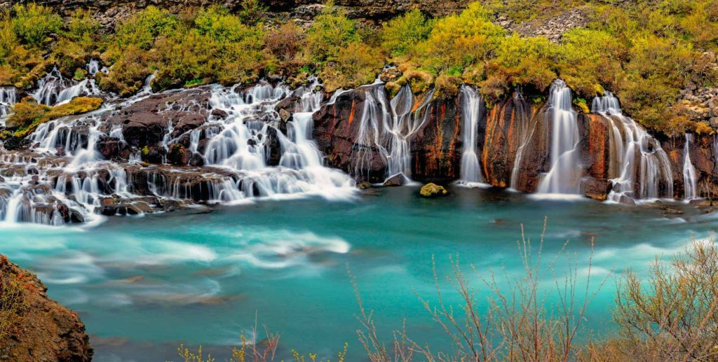Iceland Off the Beaten Track Hvalfjordur Private Tour Hraunafoss