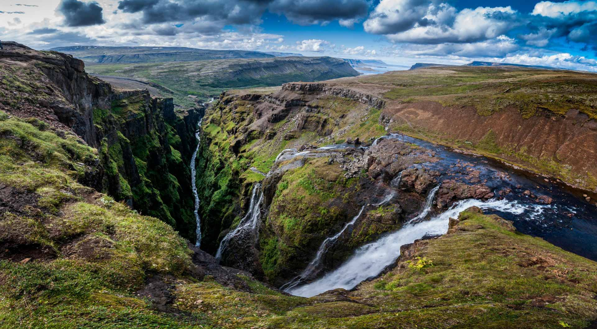 Iceland Off the Beaten Track Hvalfjordur Private Tour Glymur Waterfall