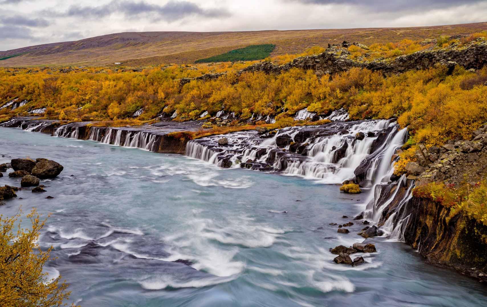 Iceland Off the Beaten Track Hvalfjordur Private Tour Hraunafoss