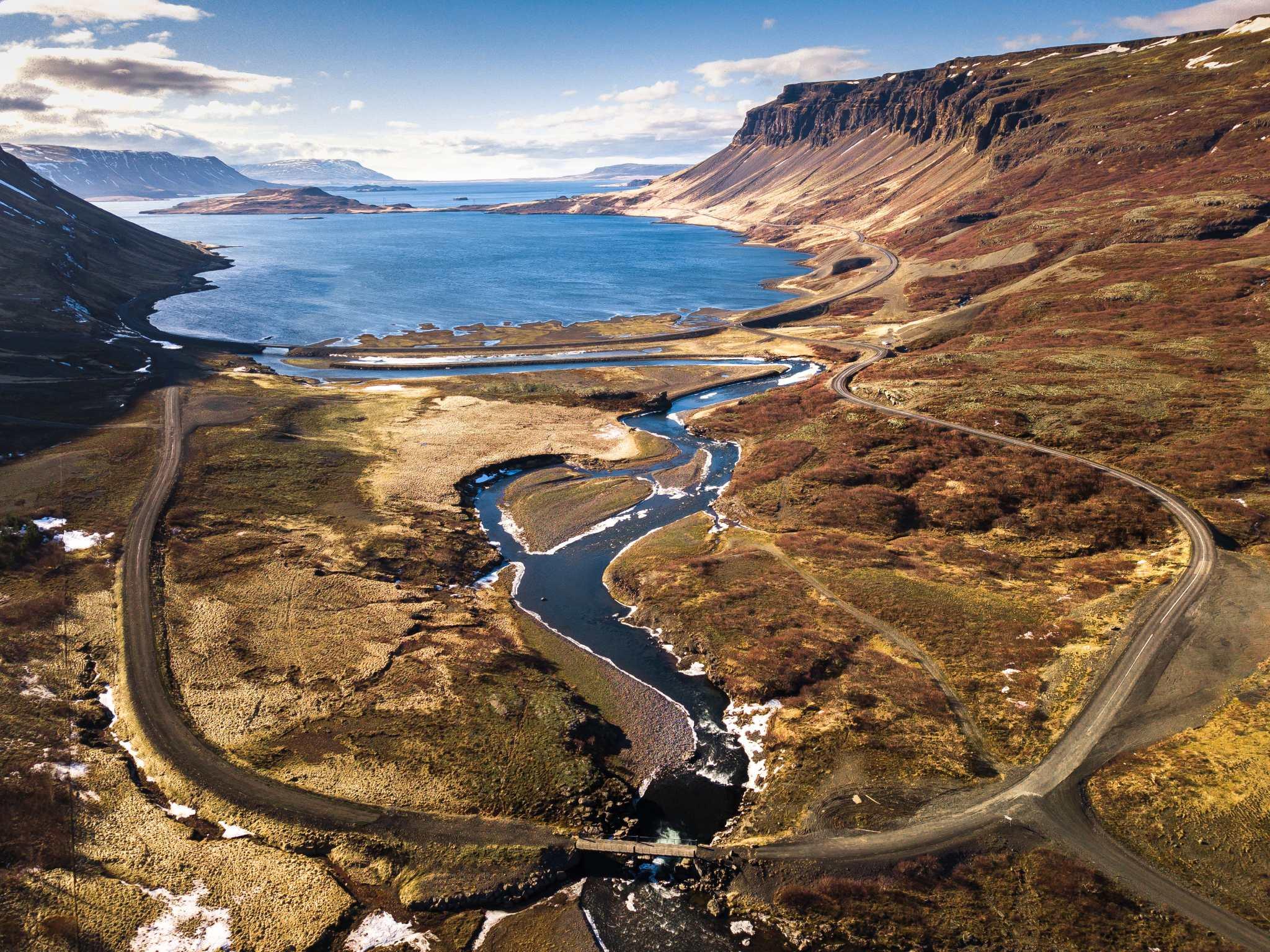 Iceland Off the Beaten Track Hvalfjordur Private Tour Panorama