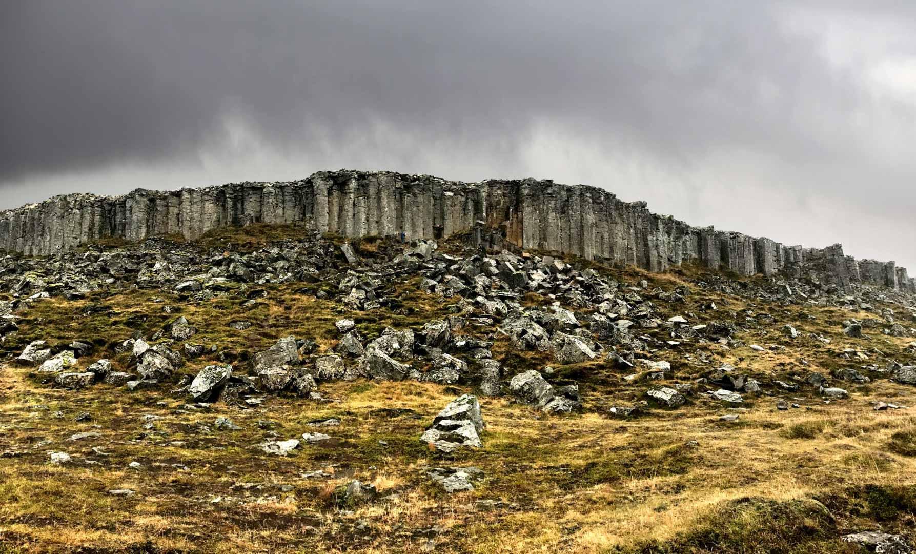 Snfellsnes Private Tour Gerduberg Basalt Columns