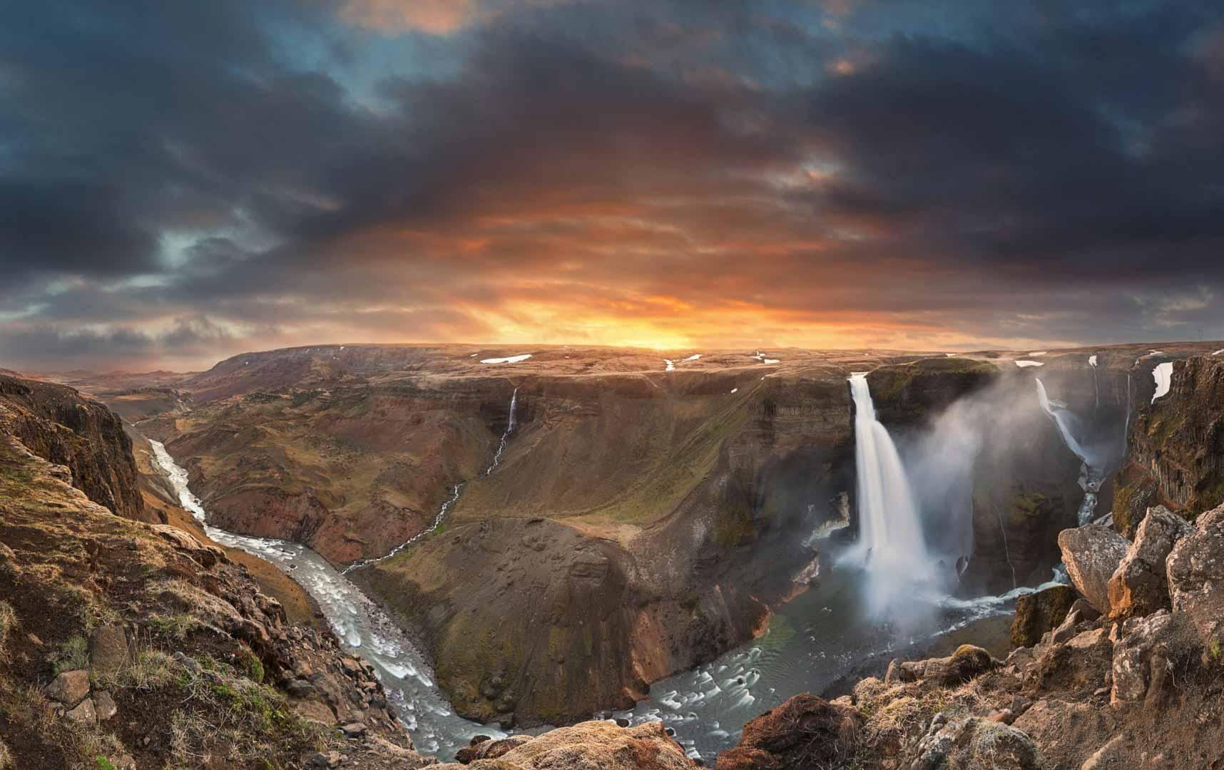 Iceland Landmannalaugar Tour Haifoss