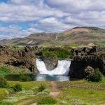 Iceland Landmannalaugar Tour Hjalparfoss