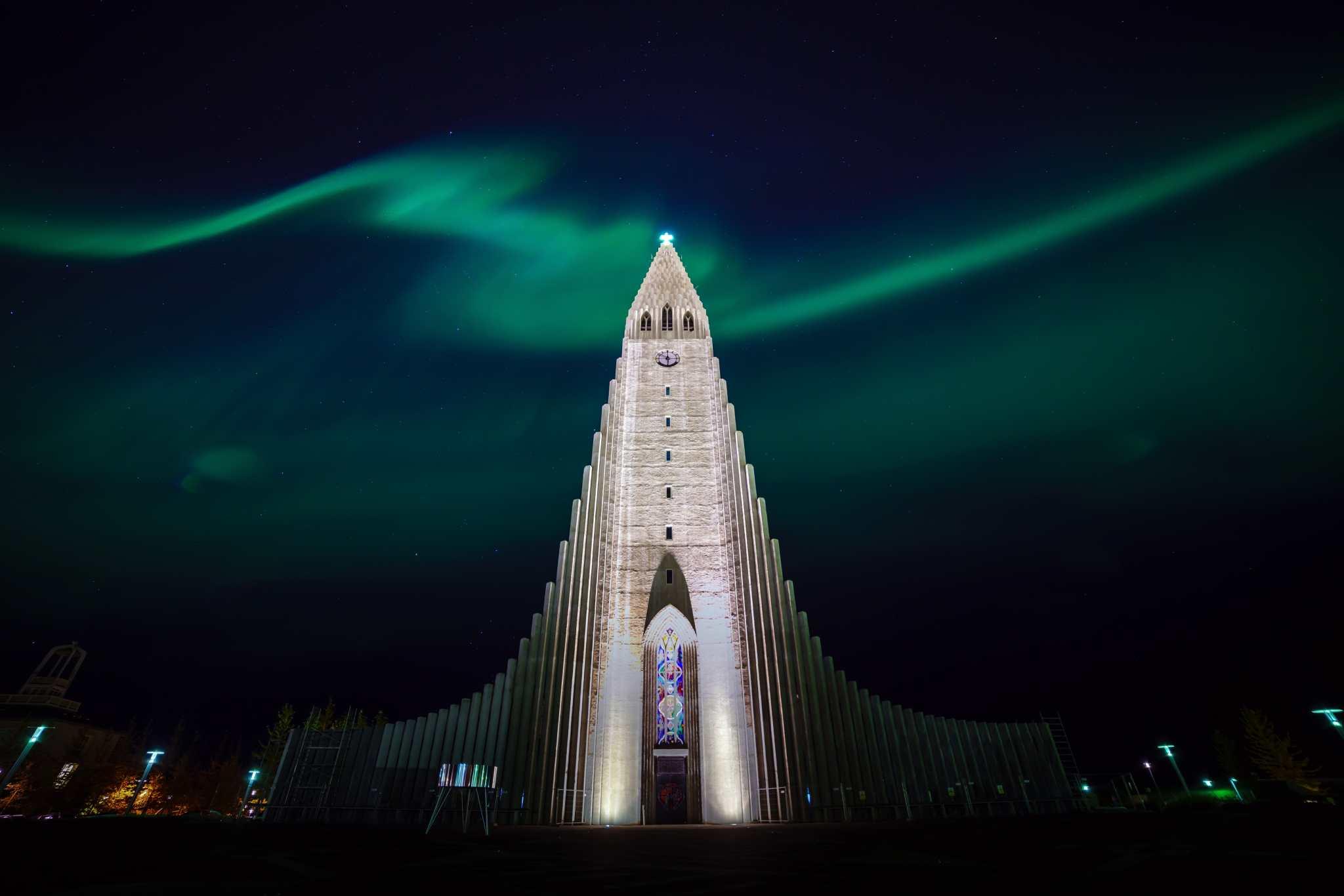 northern lights reykjavik iceland