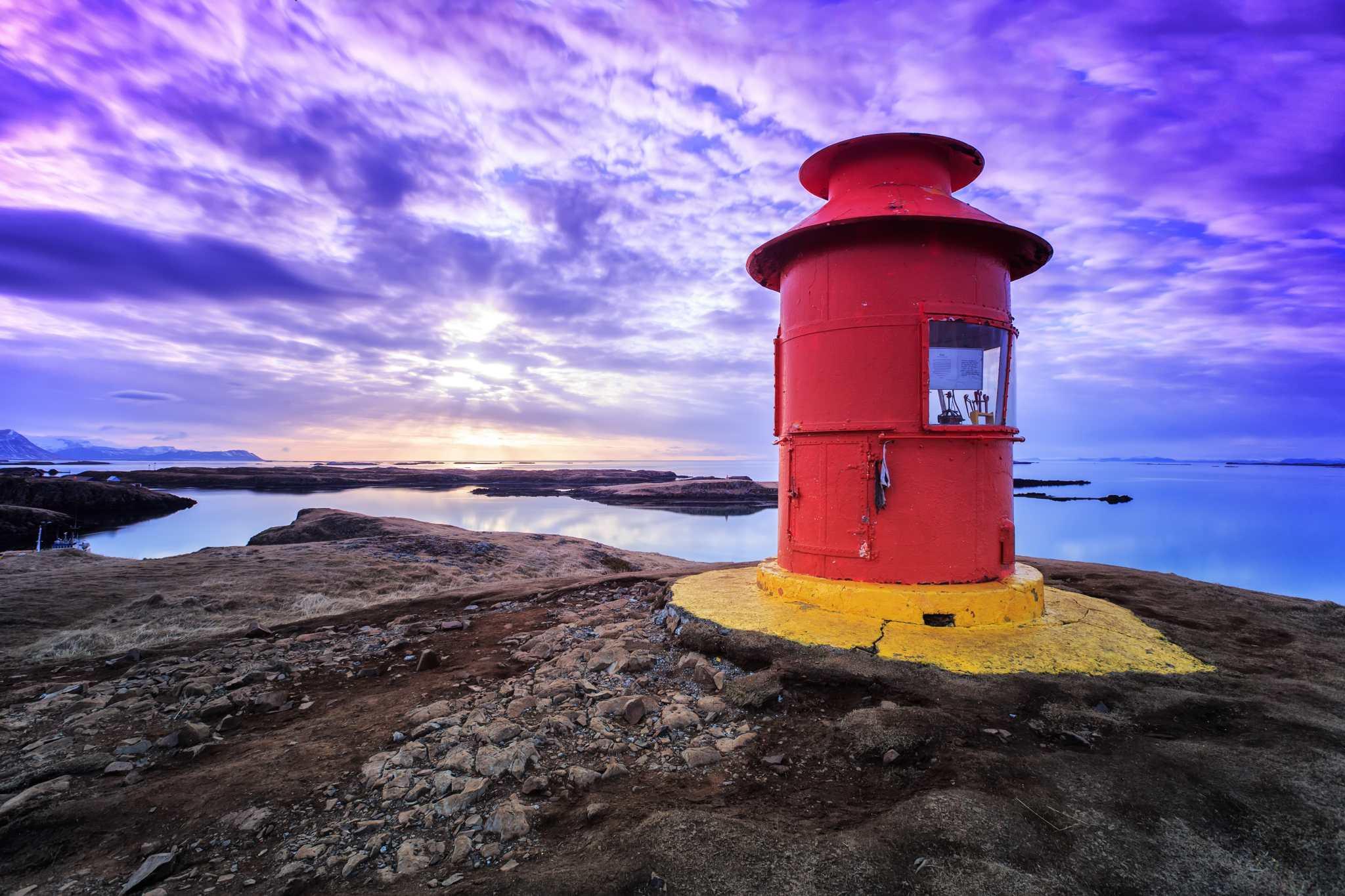 sunset Iceland Stykkisholmur